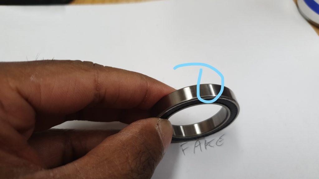 Scratch Bearing Fake Test