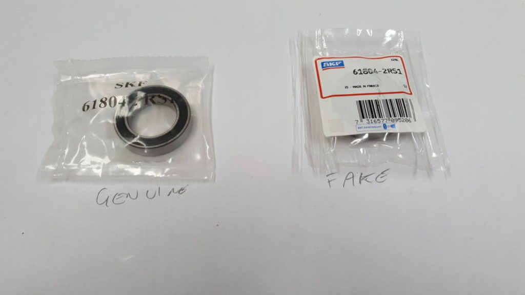 SKF Fake Bearing