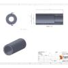 Hambini 6803 (61803) Overaxle Press Adaptor