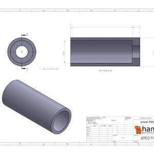 Hambini 6903 (61903) Overaxle Press Adaptor