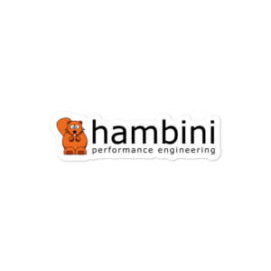 Hambini Kiss Cut Sticker