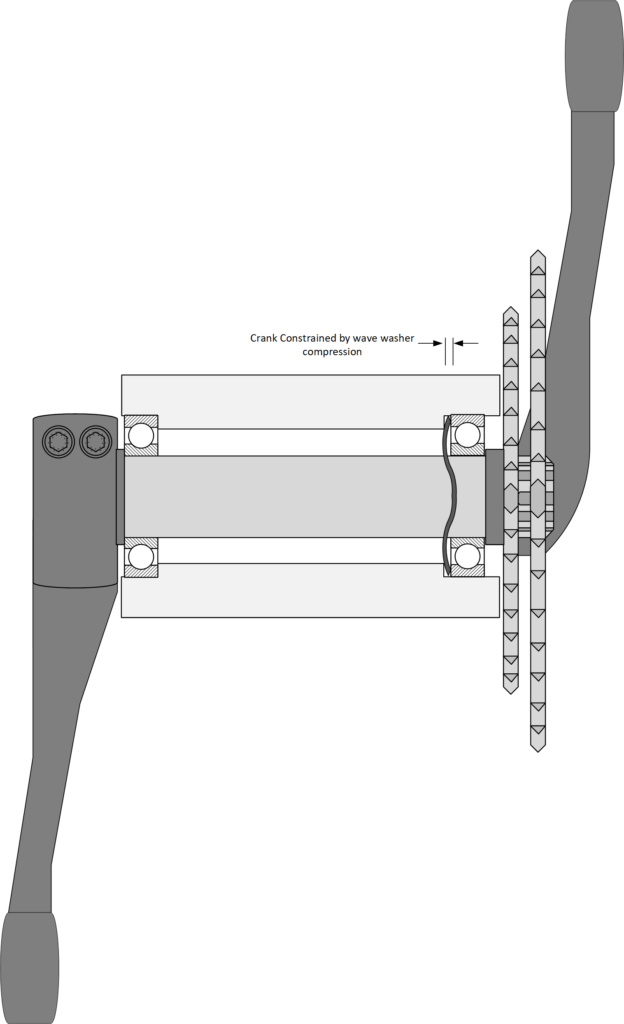 Campagnolo Ultra Torque recommended Bearing Setup